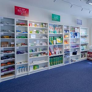 Helsebutikken i det kinesiske naturbehandlerhus