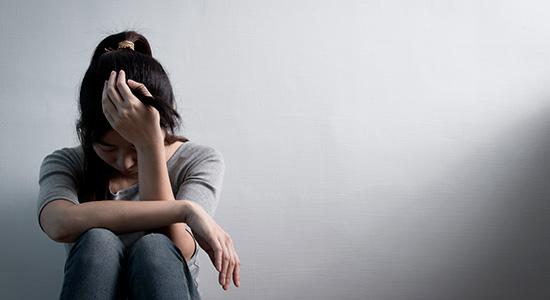 Depression behandling - depressiv person